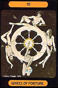 Rueda de la Fortuna en el Tarot
